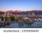 Beautiful View Of Mono Lake  A...