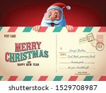 letter christmas greetings... | Shutterstock .eps vector #1529708987
