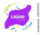 modern abstract wave banner.... | Shutterstock .eps vector #1529767427