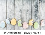 Easter Greeting Card Backgroun...