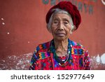 Senior Woman In Ethnic...