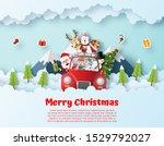 origami paper art postcard of...   Shutterstock .eps vector #1529792027