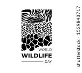 World Wildlife Day Illustration....