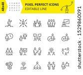 simple set of vector stroke...   Shutterstock .eps vector #1529860091