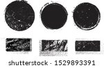 grunge post stamps collection ...   Shutterstock .eps vector #1529893391