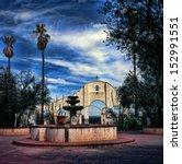 Spanish Mission San Xavier Del...