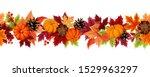 vector horizontal seamless... | Shutterstock .eps vector #1529963297