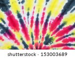 close up shot of tie dye fabric ... | Shutterstock . vector #153003689