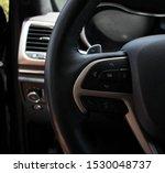 Interior Black Jeep Grand...