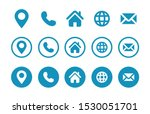 contact information icons ...eb ...