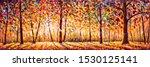Autumn  Panorama Original Oil...
