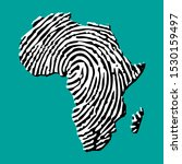 sketch fingerprint african...   Shutterstock .eps vector #1530159497