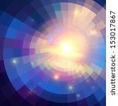 Abstract Violet Shining Circle...