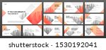 power presentation templates... | Shutterstock .eps vector #1530192041