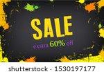 sale banner template design....   Shutterstock . vector #1530197177