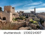 The Tower Of David In Ancient...