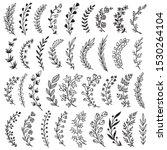 big set of hand drawn vector... | Shutterstock .eps vector #1530264104