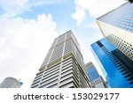 financial district in singapore ... | Shutterstock . vector #153029177