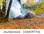 Smoke From Burning Autumn...
