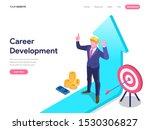 career development concept....