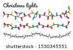 Christmas Lights. Colorful...