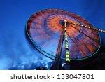 Ferris Wheel And Rollercoaster...