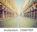 vintage looking via roma... | Shutterstock . vector #153047909