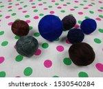 round balls of thread for... | Shutterstock . vector #1530540284