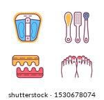 pedicure procedures color line...