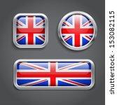 set of united kingdom flag... | Shutterstock .eps vector #153082115