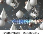 christmas background with... | Shutterstock .eps vector #1530822317