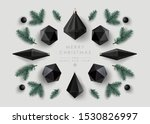christmas background with... | Shutterstock .eps vector #1530826997