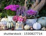 Vintage Garden Decoration With...