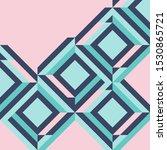 geometric zig zag vector... | Shutterstock .eps vector #1530865721
