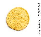 Round Nacho Chips. Yellow...