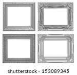 the old antique frame on the... | Shutterstock . vector #153089345