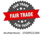 fair trade red sign. fair trade ... | Shutterstock .eps vector #1530922184