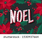 christmas and new year... | Shutterstock .eps vector #1530937664