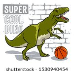 dinosaur and slogan typography... | Shutterstock .eps vector #1530940454