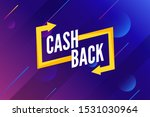 cash back offer banner design.... | Shutterstock .eps vector #1531030964
