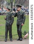 st.petersburg  russia    may 9  ... | Shutterstock . vector #153105371