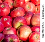 Red Apples On Sale