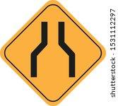 traffic sign vector eps 11   Shutterstock .eps vector #1531112297