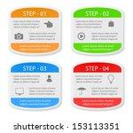 website option banners | Shutterstock .eps vector #153113351