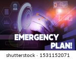 Text Sign Showing Emergency...