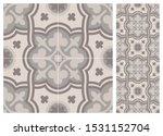 arabic patter style tiles for... | Shutterstock .eps vector #1531152704