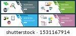web banners concept in vector...   Shutterstock .eps vector #1531167914