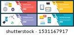 web banners concept in vector...   Shutterstock .eps vector #1531167917