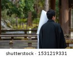 Stock photo scenery of the shinto style wedding ceremony in japan 1531219331
