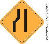 traffic sign vector eps 10   Shutterstock .eps vector #1531243454